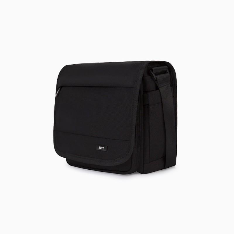 sac messenger noir