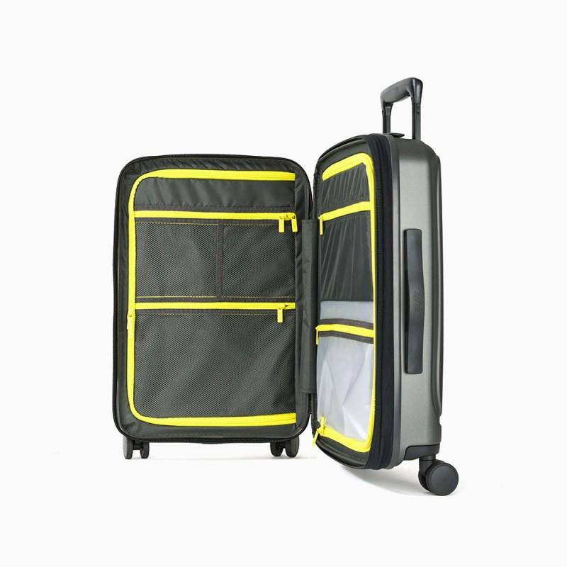 intérieur valise voyage